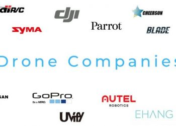drone companies and logos