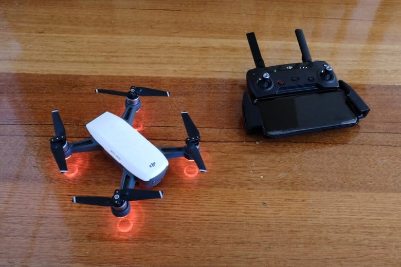 pairing drone and transmitter