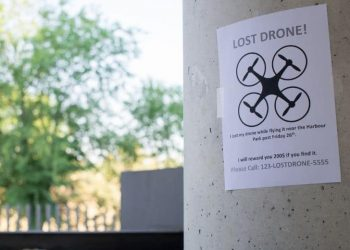 how to find a lost drone - poster of missing drone